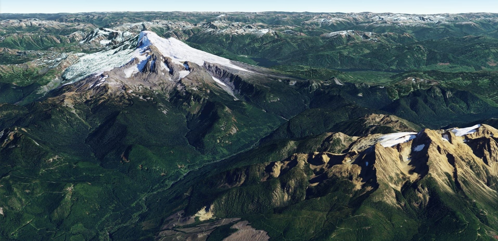 ArcGIS 3D Map of Mt Baker